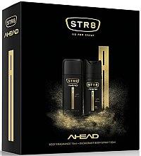 Düfte, Parfümerie und Kosmetik Str8 Ahead - Körperpflegeset (Deodorant/75ml+Deodorant-Spray/150ml)