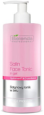 Gesichtsgel- Tonikum mit Goji Beeren aus Tibet - Bielenda Professional Program Face Skin Satin Tonik — Bild N1