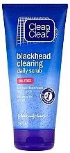 Düfte, Parfümerie und Kosmetik Gesichtspeeling - Clean & Clear Blackhead Clearing Daily Scrub