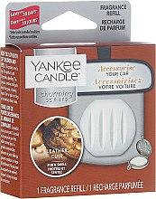 Düfte, Parfümerie und Kosmetik Duftstein für Autoduftanhänger - Yankee Candle Leather Charming Scents (Refill)