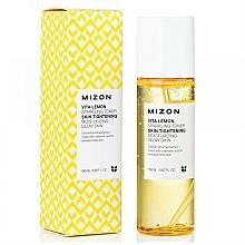 Düfte, Parfümerie und Kosmetik Feuchtigkeitsspendendes und revitalisierendes Gesichtstonikum mit Kohlensäure, Sprudelwasser und Zitrone - Mizon Vita Lemon Sparkling Toner
