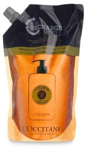 Flüssigseife mit Zitronenstrauch - L'Occitane Verbena Liquid Soap (Doypack) — Bild N1