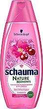 Düfte, Parfümerie und Kosmetik Feuchtigkeitsspendendes Shampoo für glanzloses und trockenes Haar mit kanadischer Cranberry und Wildrose - Schwarzkopf Schauma Nature Moments Canadese Cranberry & Wild Rose Shampoo