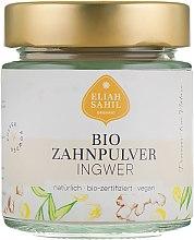 Düfte, Parfümerie und Kosmetik Zahnpulver mit Ingwer - Eliah Sahil