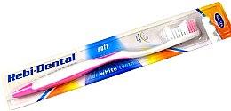 Düfte, Parfümerie und Kosmetik Zahnbürste weich Rebi-Dental M46 weiß-violett - Mattes
