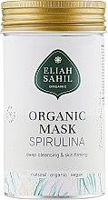 Düfte, Parfümerie und Kosmetik Tiefreinigende und hautstraffende Gesichtsmaske mit Algenextrakt und Heilerde - Eliah Sahil Mask