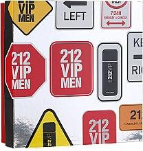 Düfte, Parfümerie und Kosmetik Carolina Herrera 212 VIP Men - Duftset (Eau de Toilette 100 ml + Duschgel 100 ml)