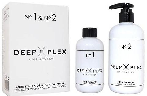 Haarpflegeset - Stapiz Deep Plex System No.1 & No.2 Set (Haaremulsion 150ml + Haaremulsion 290ml)
