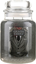Düfte, Parfümerie und Kosmetik Duftkerze im Glas Grey - Country Candle Grey
