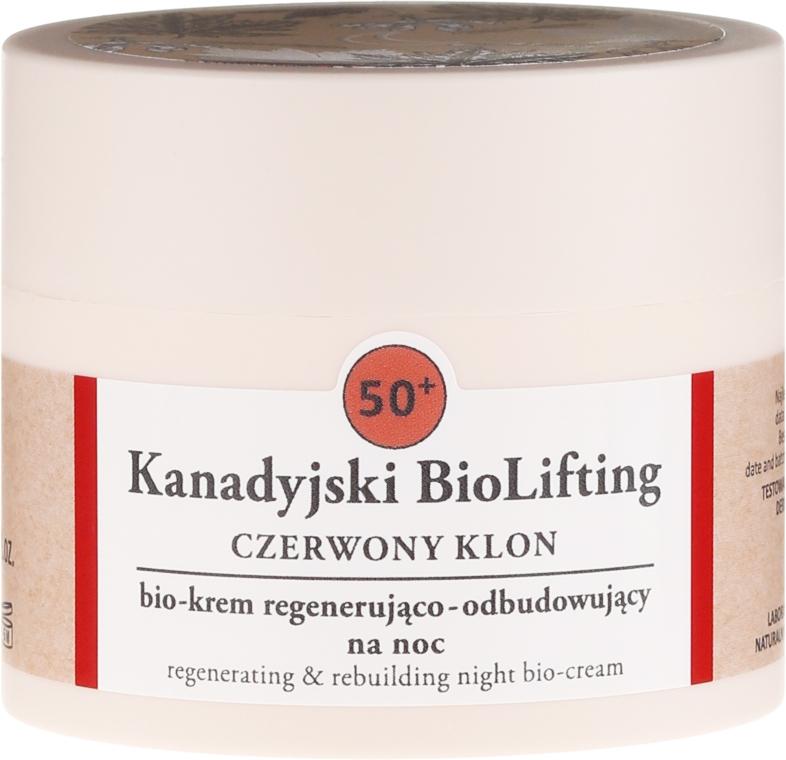 Regenerierende Gesichtscreme 50+ - Farmona Canadian BioLifting Red Maple — Bild N2