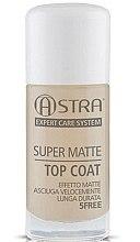 Düfte, Parfümerie und Kosmetik Nagellacktrockner mit Matt-Effekt - Astra Make-up Super Matte Top Coat