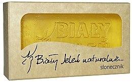 Düfte, Parfümerie und Kosmetik Hypoallergene Naturseife mit Sonnenblumenextrakt - Bialy Jelen Hypoallergenic Soap Extract Sunflower