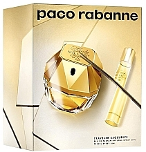 Düfte, Parfümerie und Kosmetik Paco Rabanne Lady Million Traveler Exclusive - Duftset (Eau de Parfum 80ml + Eau de Parfum 10ml)
