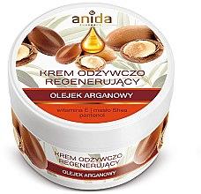 Düfte, Parfümerie und Kosmetik Pflegende Gesichtscreme mit Arganöl und Vitamin E - Anida Pharmacy Argan Oil Nourishing Cream