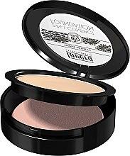 Düfte, Parfümerie und Kosmetik 2in1 Kompakt-Foundations mit cremiger Formel und Sonnenblumenöl - Lavera 2-in-1 Compact Foundation