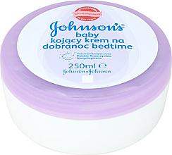 Düfte, Parfümerie und Kosmetik Beruhigende Babycreme - Johnson's Baby