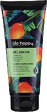 Düfte, Parfümerie und Kosmetik Duschgel mit Mango und schwarzer Karotte - Bio Happy Shower Gel Mango And Black Carrot