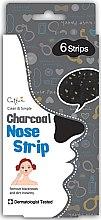 Düfte, Parfümerie und Kosmetik Nasenporenstereifen mit Aktivkohle - Cettua Charcoal Nose Strip