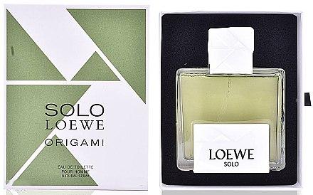 Loewe Solo Loewe Origami - Eau de Toilette — Bild N1