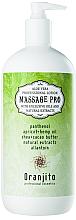 Düfte, Parfümerie und Kosmetik Massagemilch für den Körper mit Aloe Vera - Oranjito Massage Pro Aloe Vera Massage Body Milk