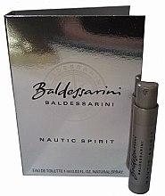 Düfte, Parfümerie und Kosmetik Baldessarini Nautic Spirit - Eau de Toilette (Probe)