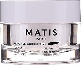 Düfte, Parfümerie und Kosmetik Straffende Gesichtspflege mit Glättungseffekt gegen Falten - Matis Reponse Corrective Lift-Perf Cream
