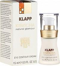 Leichte Fluid-Creme für die Augenpartie mit Aloe Vera und Sheabutter - Klapp Kiwicha Eye Contour Cream — Bild N1