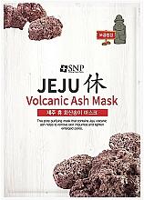 Düfte, Parfümerie und Kosmetik Reinigende Tuchmaske mit Vulkanasche - SNP Jeju Rest Volcanic Ash Mask