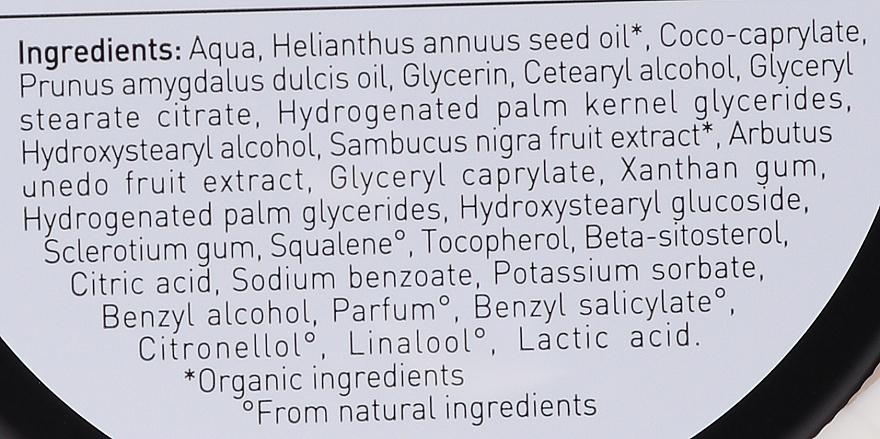 Multifunktionale Körper- und Gesichtscreme mit Erdbeerbaum und Holunder - Bio Happy Arbutus & Elderberry Face & Body Cream — Bild N4