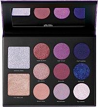 Düfte, Parfümerie und Kosmetik Schminkpalette - Milani Giordani Gilded Violet Hyper-pigmented Eye & Face Palette