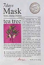 Düfte, Parfümerie und Kosmetik Gesichtsmaske mit Teebaumöl - Ariul 7 Days Mask Tea Tree