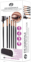 Düfte, Parfümerie und Kosmetik Make-up Pinselset 6-tlg. - Rio Eye Essentials Cosmetic Brush Collection