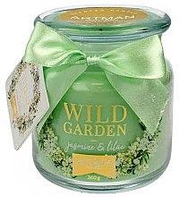 Düfte, Parfümerie und Kosmetik Duftkerze im Glas Jasmin & Flieder - Artman All Season Jar Wild Garden Jasmin & Lilac Ø10 x H11 cm (360 g)