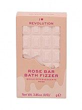 """Düfte, Parfümerie und Kosmetik Badebombe Rose - I Heart Revolution Chocolate Bar Bath Fizzer """"Rose"""""""