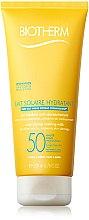 Düfte, Parfümerie und Kosmetik Sonnenschutzcreme für Gesicht und Körper - Biotherm Lait Solaire Hydratant SPF 50