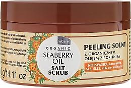 Düfte, Parfümerie und Kosmetik Salzpeeling für den Körper mit Bio Sanddornöl - GlySkinCare Organic Seaberry Oil Salt Scrub