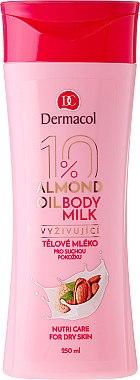 Schützende und feuchtigkeitsspendende Körperlotion - Dermacol Almond Oil Nourishing Body Milk — Bild N1