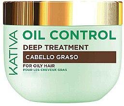 Düfte, Parfümerie und Kosmetik Intensive Haarbehandlung für fettiges Haar - Kativa Oil Control Deep Treatment
