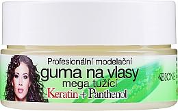 Düfte, Parfümerie und Kosmetik Haarwachs - Bione Cosmetics Keratin + Panthenol Professional Ultra Strong Sculpting Rubber