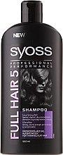 Shampoo für dünnes Haar - Syoss Full Hair 5 Shampoo — Bild N1