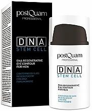 Düfte, Parfümerie und Kosmetik Regenerierende Augenkonturcreme für Männer - PostQuam Global Dna Men Intensive Eye Contour