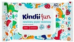 Düfte, Parfümerie und Kosmetik Antibakterielle Feuchttücher mit Aloe Vera und Panthenol - Kindii Fun