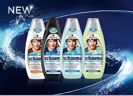 Anti-Schuppen Shampoo - Schwarzkopf Schauma Anti-Dandruff Classic Shampoo Men — Bild N3