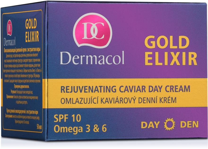 Verjüngende Tagescreme - Dermacol Gold Elixir Rejuvenating Caviar Day Cream — Bild N3