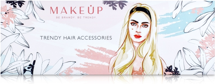 Haarband Be Beauty rosa - MakeUp — Bild N3