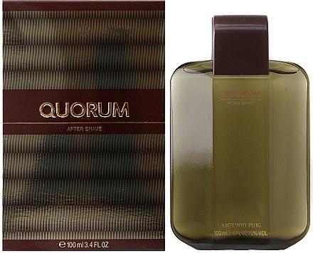 Antonio Puig Quorum - After Shave Lotion — Bild N2
