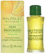 Düfte, Parfümerie und Kosmetik Frais Monde Spa Fruit Orange And Chilli Leaves Perfumed Oil - Parfümiertes Öl mit Fruchtorange und Chili-Blätter