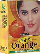 Düfte, Parfümerie und Kosmetik Orangenschalenpulver für Gesichtsreinigung und glänzendes Haar - Hesh Orange Peel Powder