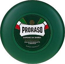 Düfte, Parfümerie und Kosmetik Rasierseife mit Menthol- und Eukalyptus - Proraso Green Shaving Soap