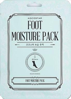Fußmaske-Sockenpack mit Pflanzenextrakten für trockene, raue und müde Füße - Kocostar Foot Moisture Pack — Bild N1